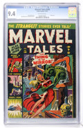 Golden Age (1938-1955):Horror, Marvel Tales #104 (Atlas, 1951) CGC NM 9.4 Off-white pages....