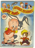 Golden Age (1938-1955):Cartoon Character, Looney Tunes and Merrie Melodies Comics #4 (Dell, 1942) Condition:Apparent VG-....