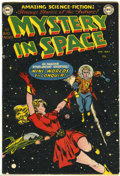 Golden Age (1938-1955):Science Fiction, Mystery in Space #1 (DC, 1951) Condition: Apparent VG+....
