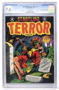 Golden Age (1938-1955):Horror, Startling Terror Tales #10 (#1) Mile High pedigree (StarPublications, 1952) CGC VF- 7.5 Off-white pages....
