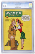 Golden Age (1938-1955):Crime, Punch Comics #17 Mile High pedigree (Chesler, 1946) CGC VF+ 8.5 Off-white to white pages....