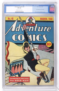Adventure Comics #48 (DC, 1940) CGC VF 8.0 Off-white to white pages