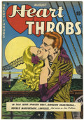 Golden Age (1938-1955):Romance, Heart Throbs #1 (Arleigh publishing company, 1949) Condition:VF-....