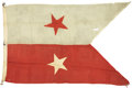 Military & Patriotic:Civil War, Major General Philip H. Sheridan's Personal Civil War, 1864-1865, Battle Flag accompanied by a letter of authenticity, detai...