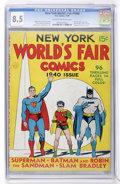 Golden Age (1938-1955):Superhero, New York World's Fair Comics 1940 (DC, 1940) CGC VF+ 8.5 Cream to off-white pages....