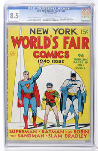 New York World's Fair Comics 1940 (DC, 1940) CGC VF+ 8.5 Cream to off-white pages