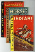 Silver Age (1956-1969):Classics Illustrated, World Around Us Group (Gilberton, 1958-61).... (Total: 31 ComicBooks)