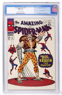 The Amazing Spider-Man #47 (Marvel, 1967) CGC NM+ 9.6 Off-white to white pages