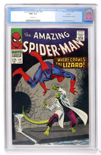 The Amazing Spider-Man #44 Curator pedigree (Marvel, 1967) CGC NM+ 9.6 White pages