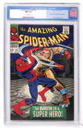 Silver Age (1956-1969):Superhero, The Amazing Spider-Man #42 (Marvel, 1966) CGC NM+ 9.6 Off-white pages....