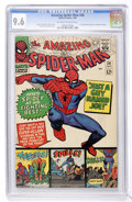Silver Age (1956-1969):Superhero, The Amazing Spider-Man #38 (Marvel, 1966) CGC NM+ 9.6 Off-white to white pages....
