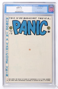 Panic #6 Gaines File pedigree 1/7 (EC, 1955) CGC NM/MT 9.8 Off-white to white pages