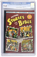 Golden Age (1938-1955):Religious, Picture Stories from the Bible Complete New Testament Edition - 40¢Cover - Gaines File pedigree 5/12 (EC, 1945) CGC NM/MT 9.8...