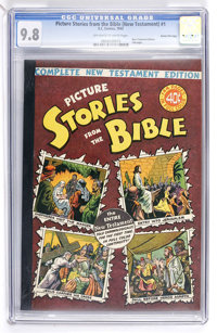 Picture Stories from the Bible Complete New Testament Edition - 40¢ Cover - Gaines File pedigree 5/12 (EC, 1945) CG...
