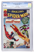 Silver Age (1956-1969):Superhero, The Amazing Spider-Man #17 (Marvel, 1964) CGC NM 9.4 Off-whitepages....