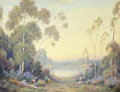 Fine Art - Painting, European:Modern  (1900 1949)  , ALEXIS MATTHEW PODCHERNIKOFF (Russian/American, 1886-1933).Landscape. Oil on canvas. 28 x 36 inches (71.1 x 91.4 cm).S...