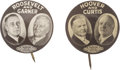 Political:Pinback Buttons (1896-present), Matched Pair of 1932 Presidential Campaign Jugates.... (Total: 2 Items)
