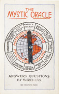 "Political:Miscellaneous Political, Harry S. Truman: ""The Mystic Oracle"" Campaign Mechanical CardNovelty...."