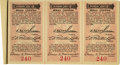 General Historic Events:World Fairs, World's Columbian Exposition: Columbian Society Ticket Book andSeven Tickets. ...