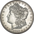 Morgan Dollars, 1893-S $1 AU58 NGC....
