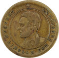 Political:Tokens & Medals, Abraham Lincoln: 1864 Campaign Token....