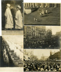 Political:Small Paper (1896-present), Five Real Photo Cards of the 1913 Suffrage Inaugural Parade....(Total: 5 Items)