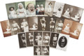 Political:Small Paper (1896-present), Twenty Four Suffrage Cards of Babies and Children... (Total: 24 Items)