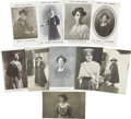 Political:Small Paper (1896-present), Woman's Suffrage: Ten W.S.P.U. Postcards of Leaders of theMovement.... (Total: 10 Items)