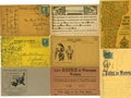 Political:Small Paper (1896-present), Woman's Suffrage: Collection of Eight Rare Cards.... (Total: 8 Items)