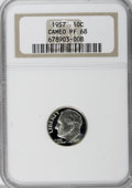 Proof Roosevelt Dimes: , 1957 10C PR68 Cameo NGC. NGC Census: (183/91). PCGS Population(138/10). Numismedia Wsl. Price for NGC/PCGS coin in PR68: ...