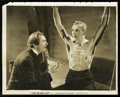 "Movie Posters:Horror, The Black Cat (Universal, 1934). Bela Lugosi and Boris KarloffPublicity Still (7.75"" X 9.75""). Horror...."