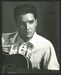 "Elvis Presley (MGM, 1960). Proof Still (7.5"" X 9.5""). Elvis Presley"