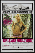 "Movie Posters:Sexploitation, Girls are for Loving (Continental, 1973). One Sheet (27"" X 41"")Style A. Sexploitation...."