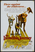 "Movie Posters:Adventure, The Incredible Journey (Buena Vista, 1963). One Sheet (27"" X 41"").Adventure...."