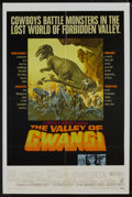 "Movie Posters:Science Fiction, The Valley of Gwangi (Warner Brothers, 1969). One Sheet (27"" X 41""). Science Fiction...."
