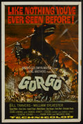 "Movie Posters:Science Fiction, Gorgo (MGM, 1961). One Sheet (27"" X 41""). Science Fiction...."