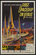 """Movie Posters:Science Fiction, First Spaceship on Venus (Crown International, 1962). One Sheet(27"""" X 41""""). Science Fiction...."""