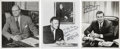 "Autographs:Statesmen, Elliott, James, and Franklin D. Roosevelt Jr.: Photos Signed.. -Nodates. No places. All 8"" x 10"" B&W portraits at their des...(Total: 3 Items)"