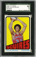 Basketball Cards:Singles (1970-1979), 1972 Topps Julius Erving #195 SGC 60 EX 5....