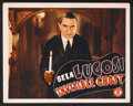"""Movie Posters:Horror, Invisible Ghost (Monogram, 1941). Lobby Card (11"""" X 14""""). Horror...."""