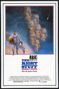 "Movie Posters:Adventure, The Right Stuff Lot (Warner Brothers, 1983). One Sheets (2) (27"" X41"" and 27"" X 40""). Adventure.... (Total: 2 Items)"