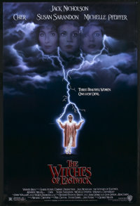 """The Witches of Eastwick Lot (Warner Brothers, 1987). One Sheets (2) (27"""" X 40.5"""" and 27"""" X 40""""). Dra..."""