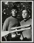 """Movie Posters:Science Fiction, Star Trek (Paramount, 1967). Stills (4) (7"""" X 9"""" and 8"""" X 10"""") andScript (Multiple Pages) The Devil in the Dark. Scienc...(Total: 5 Items)"""