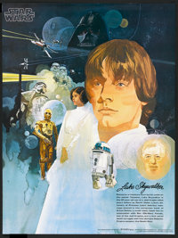 "Star Wars (Burger Chef, 1977). Set of 4 Promotional Posters (18"" X 24""). Science Fiction.... (Total: 4 Items)"