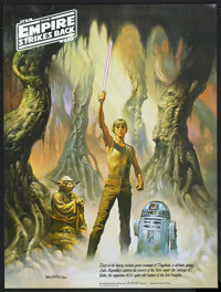 """The Empire Strikes Back (Coca-Cola Company, 1980). Special Posters (3) (18"""" X 24""""). Science Fiction.... (Total..."""