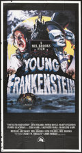 """Movie Posters:Comedy, Young Frankenstein (20th Century Fox, 1974). Three Sheet (41"""" X81"""") Style B. Comedy...."""