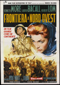 "Movie Posters:Adventure, Flame Over India (Rank, 1960). Italian 4 - Folio (55"" X 78""). Alsoknown as Northwest Frontier. Adventure...."