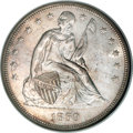 Seated Dollars, 1859 $1 MS64 NGC. CAC....