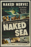 "Movie Posters:Documentary, Naked Sea (RKO, 1955). One Sheet (27"" X 41""). Documentary...."