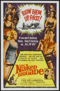 "Movie Posters:War, The Naked Brigade (Universal, 1965). One Sheet (27"" X 41""). War...."